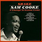 SAM COOKE  Typography Words Song Lyric Lyrics A CHANGE IS GONNA COME